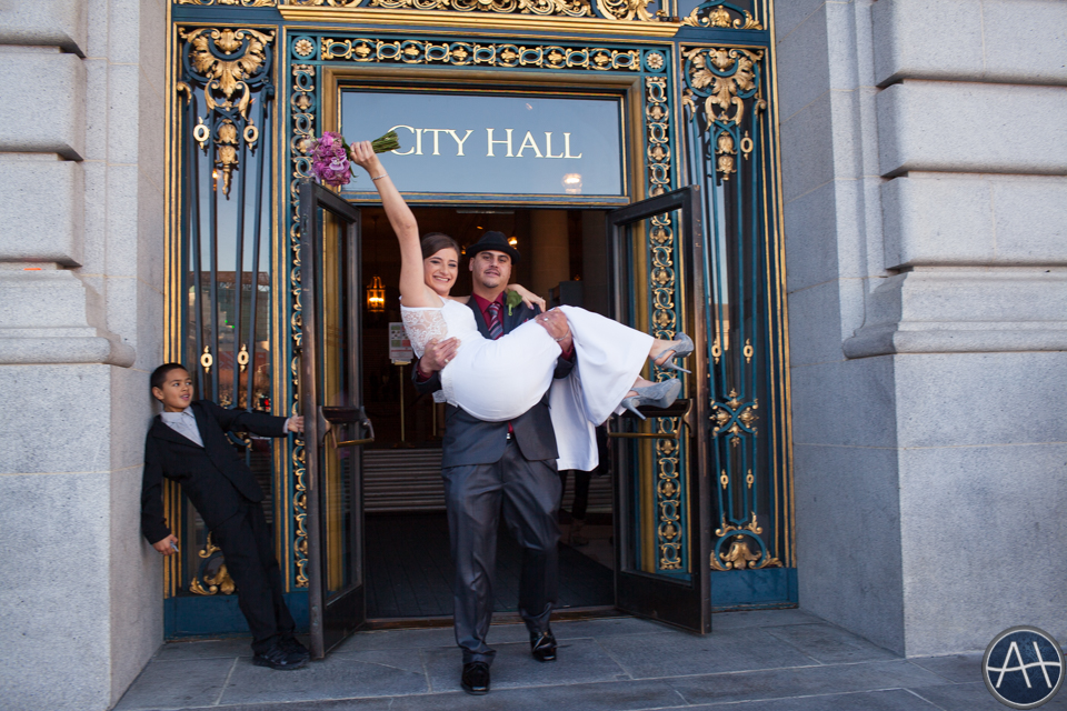 cityhall wedding san francisco door